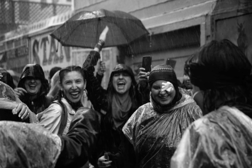 Sisterhood in the rain