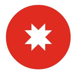 mapuche flag star